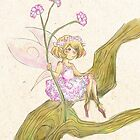 Baby's Breath Flower Fairy by TheSealandian