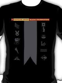 Depeche Mode : Black Celebration LP 2 T-Shirt