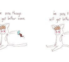 """""""i'm sure things will get better soon"""" weird cats by wade-ebooks"""