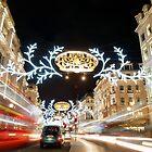 Regent Street London by Ludwig Wagner