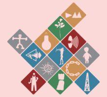 Depeche Mode : Logo Tribute 2 - Color Kids Clothes