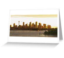 Sunset on Sydney Greeting Card