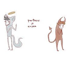 """partners in crime"" weird cats by wade-ebooks"