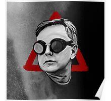 Depeche Mode : Goggles Andrew Fletcher & 2013's Delta  Poster