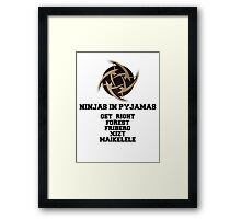 CS:GO Ninjas In Pyjamas Framed Print