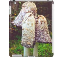 shaggy ink cap (Coprinus comatus)  iPad Case/Skin