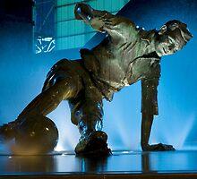 Sir Tom Finney Splash Statue by davidrhscott