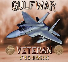 F-15 Eagle Gulf War Veteran by Mil Merchant