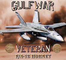 F/A-18 Hornet Gulf War Veteran by Mil Merchant