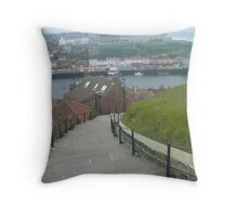 Whitbys 99 steps Throw Pillow