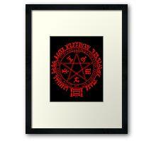 Hellsing Seal Framed Print