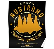 Nostromo Starfreighter Poster