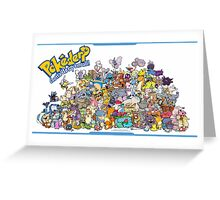 Gotta' Derp 'em all! (Group photo!) Greeting Card