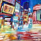 Shinjuku by KasiaPawlakArt