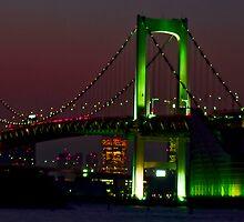 Rainbow Bridge: Tokyo  by Michael D'Andrea Diaz