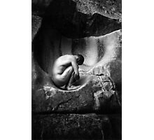 In Utero (Black and White) Photographic Print