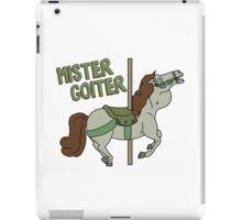 Mr. Goiter iPad Case/Skin
