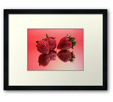 Berry Beautiful Framed Print