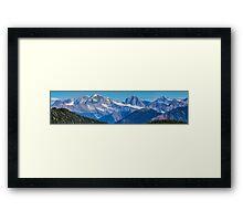 The Monashee Mountains Framed Print