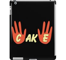 Cake (Cartoon Style) iPad Case/Skin