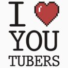 I LOVE YOUTUBERS by hypetees