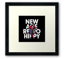 New Age Retro Hippy Framed Print