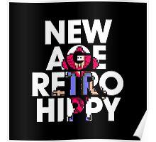 New Age Retro Hippy Poster