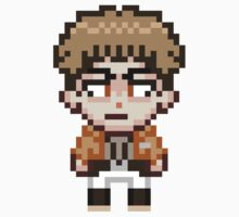 Attack on Titan - Jean Kirstein Pixel Sprite - Chibi by geekmythology