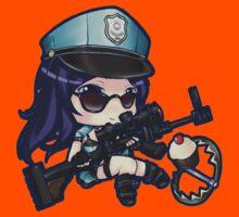 Cute Officer Caitlyn - League of Legends! by marcoluigi92
