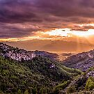 Sunset over Catalonia by Robbie Labanowski