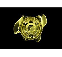 Yellow Lantern Photographic Print