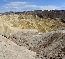 Zabriskie Point, California / Nevada by Simon Mears