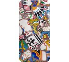 Gaudi tiles iPhone Case/Skin