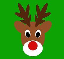 Rudolph  by CraftyChloe23