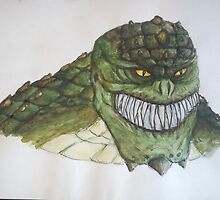 Killer Croc by Daniel Almeida