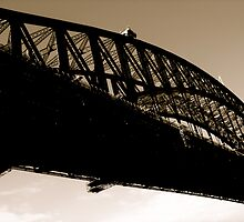 Crossing the bridge by diongillard