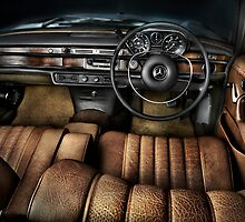 1968 Mercedes Interior by DPid
