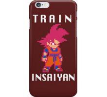 Train Insaiyan Super Saiyan God Goku (White) iPhone Case/Skin