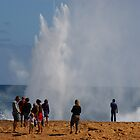 Blowhole, near Carnavon, Western Australia by pmitchell