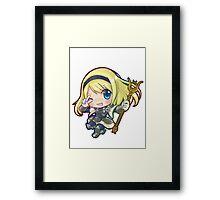 Cute Lux - League of Legends! Framed Print