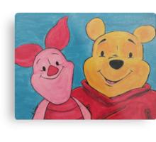 Disney Winnie-the-Pooh Fan Art Metal Print