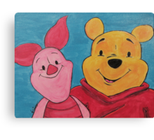 Disney Winnie-the-Pooh Fan Art Canvas Print