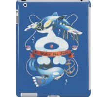 Team Aqua Crest  iPad Case/Skin