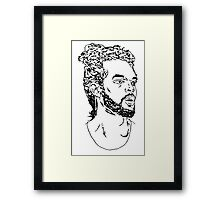 Joakim Noah Framed Print
