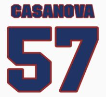 National baseball player Raul Casanova jersey 57 by imsport