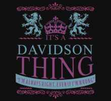 it's DAVIDSON Thing by RooDesign