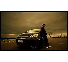 My Mitsubishi Colt Photographic Print