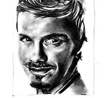 david beckham by art4friends