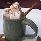 HOT CHOCOLATE ANYONE WITH MARSHMALLOWS  by MsLiz