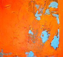 ABSTRACT ORANGE by gillsart